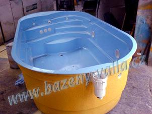 Laminátové bazény mělník